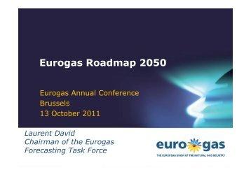 Eurogas Roadmap 2050