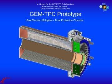 GEM-TPC Prototype - Villa Olmo