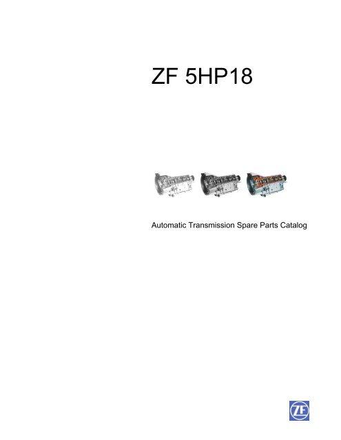 Manual Zf5hp18