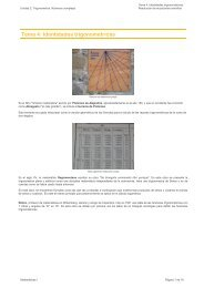 Tema 4: Identidades trigonométricas - aulAragon