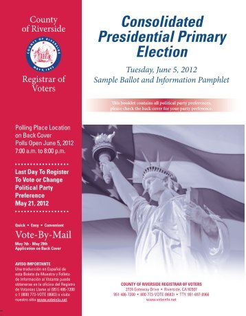 SAMPLE GENERAL ELECTION BALLOT - Lincoln County, South ...