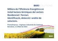 Presentació BAXI - Enginyers Industrials de Catalunya