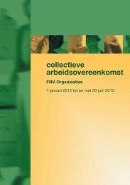 collectieve arbeidsovereenkomst - FNV Bondgenoten