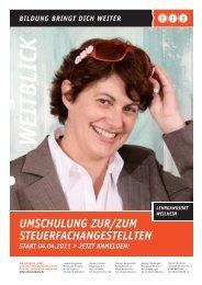 UmschUlUng zUr/zUm steUerfachangestellten - BIB Augsburg gGmbH