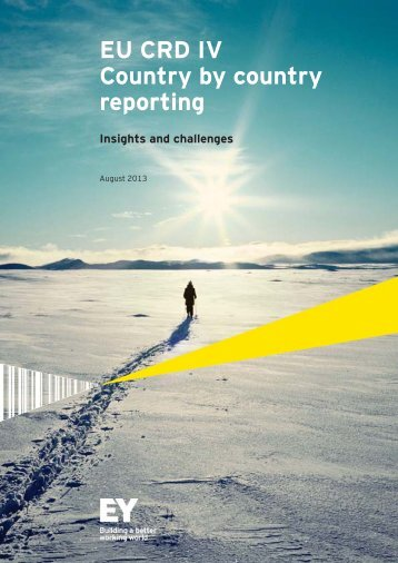 EY-EU-CRD-IV-Country-by-country-reporting