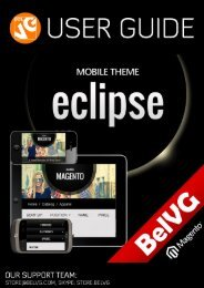 Eclipse Mobile Theme User Guide - BelVG Magento Extensions Store