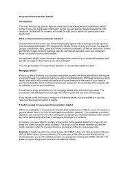 Houseowner/householder takaful - InsuranceInfo