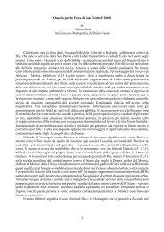 1 Omelia per la Festa di San Michele 2008 di + Bruno Forte ...