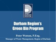Launching an Integrated Waste Management Collection Program – W