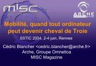 mobiles - Actes du SSTIC
