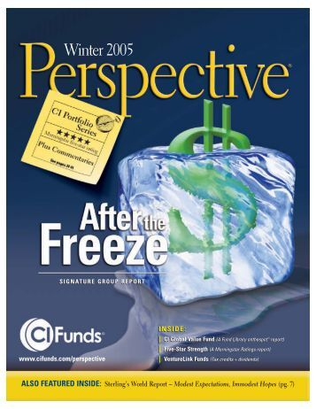Winter Edition - CI Investments