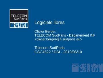 Logiciels libres - Www-cours.it-sudparis.eu