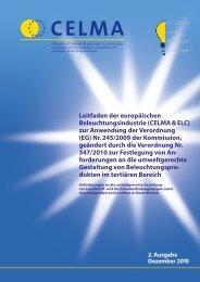 (EG) Nr. 245/2009 der - Innenbeleuchtung