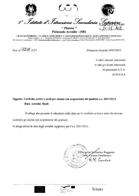 -ffaú - Liceo Platone