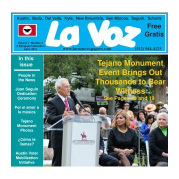 La Voz Newspaper, April 2012.pmd - La Voz Newspapers