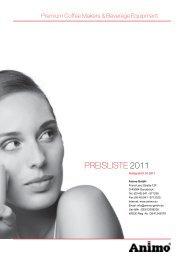 PREISLISTE 2011 - Grimm Gastro
