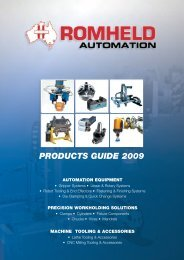 PRODUCTS GUIDE 2009 - Romheld