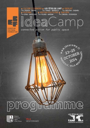 Idea Camp 2014_Programme