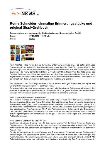 PDF :: fair-NEWS.de :: Romy Schneider: einmalige ...