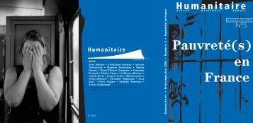 Revue Humanitaire n°5 - Médecins du Monde