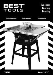 Table saw Bordsåg Bordsåg