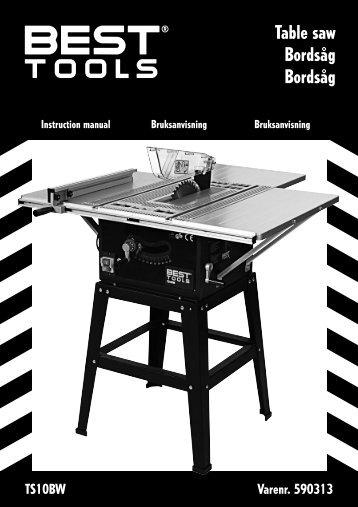 Table saw Bordsåg Bordsåg