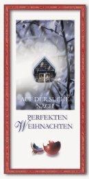 Auf der Suche nach perfekten Weihnachten