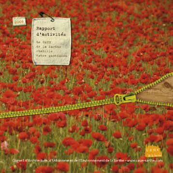 Rapport d'activités 2009 - CAUE