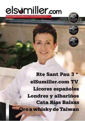 Rte Sant Pau 3 * elSumiller.com TV Londres y albariños Cata Rias ...