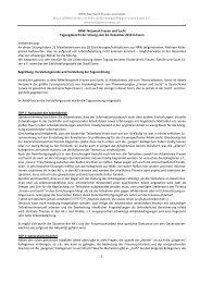 NRW-Netzwerk Frauen und Sucht 02. Dezember 2010 - Bella Donna