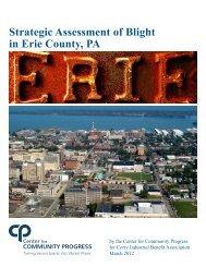 Strategic Assessment of Blight in Erie County, PA