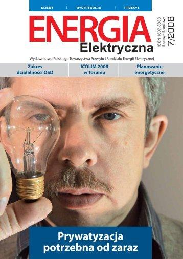 numer 7/2008 - E-elektryczna.pl