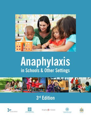 Anaphylaxis in Schools 3rd Edition