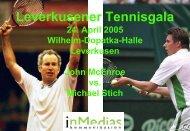 Tennis Gala - inMedias Kommunikation