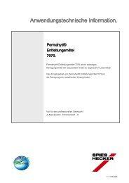 Permahyd® Entfettungsmittel 7070 - CH Coatings AG
