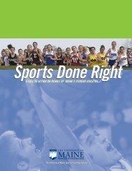 Maine Student Athlete Handbook - Myctb.org