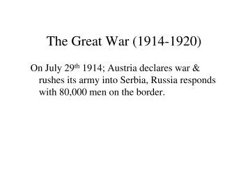 the great war the sidney bradshaw fay thesis worksheet