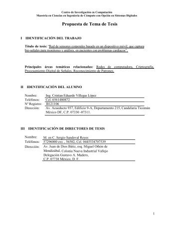 Cristian E. Villegas Lopez Propuesta de Tesis.pdf - José Luis Oropeza