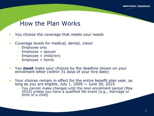NHO ES Rep 2009-2010 - Benefits Online