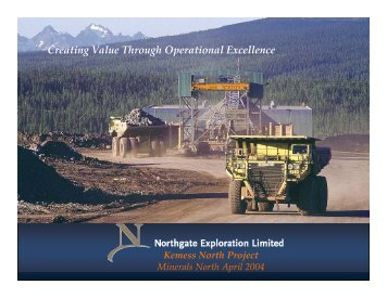 Kemess South Mine - Minerals North