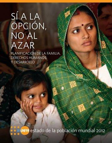 SÍ A LA OPCIÓN, NO AL AZAR - UNFPA