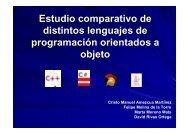 C++ C# Java Delphi_2007 - Departamento de Lenguajes y ...
