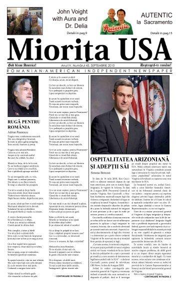 Septembrie 2010 - Miorita
