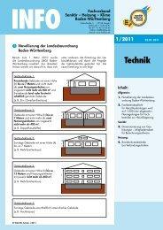 Technik - Fachverband Sanitär Heizung Klima Baden Württemberg