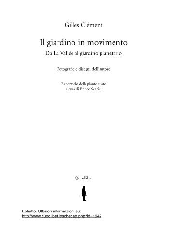 Anteprima Clement Giardino movimento.pdf - Quodlibet