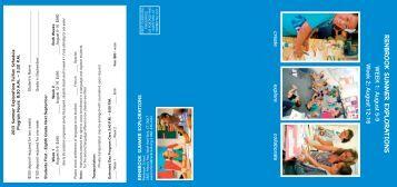 2013 Renbrook Summer Explorations Brochure