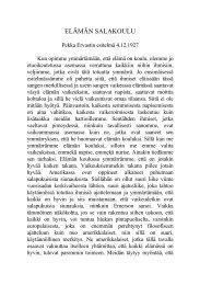 Elämän salakoulu, 4.12.1927. - Pekka Ervast