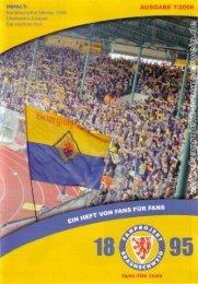 Heft 07: Stuttgarter Kickers - FanPresse Braunschweig