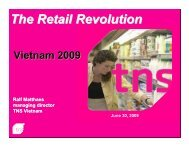 The Retail Revolution - Hong Kong Business Association Vietnam