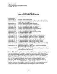 Remediation - Arkansas Department of Higher Education
